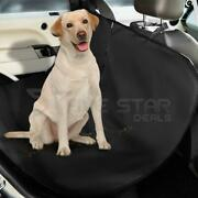 Red 2 In 1 Waterproof Car Rear Back Seat Cover Pet Dog Protector Boot Mat Liner