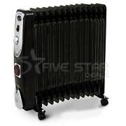 New 3kw 13 Fin Electric Portable Oil Filled Radiator Heater 3000w With Timer