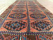 Rare Antique Wool Pile Inscribed Dated 1917 Nagorno-karabahk Runner 4and0395andtimes11and0395
