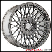 20 Avant Garde M540 Concave Brushed Tinted Wheels Rims Fits Benz W220 S430 S500