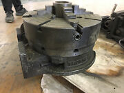 Troyke Hand Feed 14 Rotary Table With 15 4 Jaw Chuck