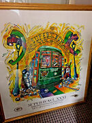 Super Bowl Xxxi Artist Signed And Numbered Tuna Seither