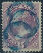 O31 15¢ Dept Of Justice F-vf Used With Blue Cancel Cv 205 Bt4227