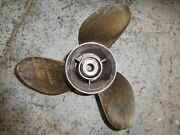 Yamaha Outboard 250 225 Hp 2 Stroke Stainless Steel Counter Propeller 14 1/2x23