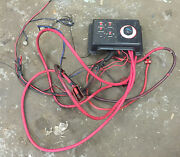 Marine Boat Perko Battery Switch With Fuse Panel And Power Cables