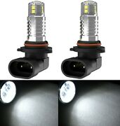 Led 20w 9005 Hb3 White 6000k Two Bulbs Head Light High Beam Replace Show Lamp