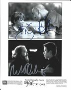 Robert De Niro And Ethan Hawke Signed 8x10 Photo - In Person Exact Proof