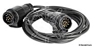 Osculati Boat Trailer Extension Cable Connector 10m 13pin Plugs X2