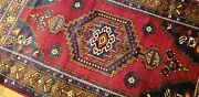 Exquisite Vintage 1960-1980and039s Natural Color Wool Pile Tribal Rug 3and0396andtimes6and039