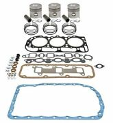 Made To Fit Ford 3600 Tractor 175 Cid 3 Cyl. Diesel Engine 4.2 Inframe Overhaul