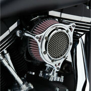 Cobra Chrome Rpt Stage 1 Air Intake Cleaner For Harley Cable Throttle 99-16 Bt