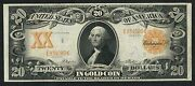 Fr1184 20 Gold Note 1906 Napier / Thompson Xf+ Only 121 Exist Wlm2432