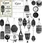 Victorian Beaded Purse Pattern Book 1900 Purses Bags