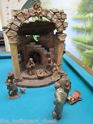 Karl Kuolt Nativity Set Manger And 11 Figurines Complement Of Main Posting