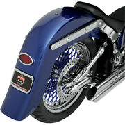 Klockwerks 4 Stretched Builders Series Rear Fender W/ Frenched Plate For Custom