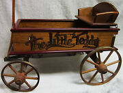 The Little Teddy Handcrafted Wood Wagon