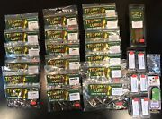 Sm / Lm Bass Tackle Pack - Premium Quality 220 Piece Trophy Lures Fishing Kit