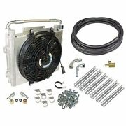 Fits 94-12 Only Dodge Ram Diesel Xtruded Double-stacked Auxiliary Trans Cooler