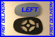 Bmw 1 Series E82 Coupe 135i 2010+ Door Wing Mirror Glass Blue Heat Left