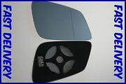 Bmw 4 Series F32 F33 F36 2013+ Wing Mirror Glass Blue Wide Angle Heated Right