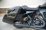 Dandd Black Ceramic Stubby Cat 2 Into 1 Exhaust For Harley Touring Models 09-16