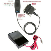 Pryme Bt-m31-kit2 Bluetooth Adapter W/ Wired Ptt Footswitch For Kenwood Mobile