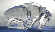 Silver Crystal Symbols The Buffalo 624598 Mint In Box Retired