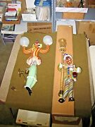 Murano Glass Clowns   Wall Lamps/sconces   Large