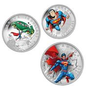 2014 Iconic Superman Comic Book Cover Silver Coins 10 15 20 [mint] New