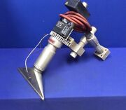 Leister Ch-6056 Kagiswil Hot Air Blower W/ 12w Knife Nozzle And Mounting Bracket