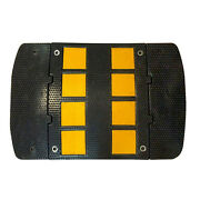 Rubber Speed Hump Traffic Calming Safety Control - Electriduct