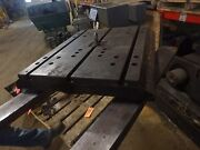 20 X 25.5 Steel Welding T-slotted Table Cast Iron Layout Plate_3 Slot