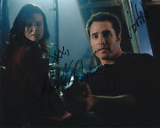 Continuum Dual W/ Coa Signed 8x10 Autograph Rachel Nichols And Victor Webster
