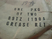 Nos 1966 - 1969 Ford Bronco Front Wheel Grease Seal Retainers B9tz-1190-a 2pcs