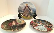 Collectable Plates Sound Of Music And The King And I Knowles 3 Plates. Vintage
