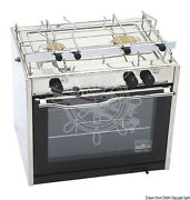 Techimpex Compact Cooker 2 Burners + Oven