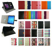 Universal Wallet Case Cover Stand Fits Plum Optimax 7.0 Tablet Pc 7 Inch