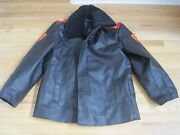 Soviet Russian Army Private Mp- Traffic Control Leather Jacket And Pants