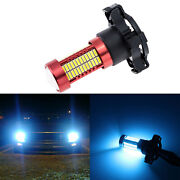 1 Piece Py24w 8000k Ice Blue Led Bulb For Front Turn Signal Light Replacement