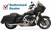 Bassani Road Rage 3 Stainless Steel 2 Into 1 Exhaust Pipe Short Muffler Touring