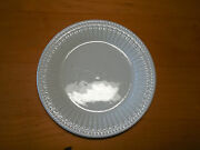 Oneida Casual Settings Aphrodite White Salad Plate 7 Ribbed 4 Available