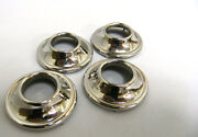 1935 1936 Ford Closed Car Handle And Riser Escutcheons Stainless Steel Set Of 4