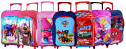Childrens Character Trolley Backpack Rucksack Luggage Cabin Bag Suitcase Wheels