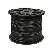 Solid Core Electric Dog Fence Wire 20-14 Gauge 150 500and039 1000and039 Spool Hdpe Cover
