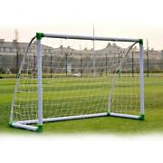Soccer Goal 6and039 X 4and039 Football W/net Straps Anchor Ball Training Sets