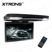 Hdmi 15.6 Lcd Coach Journey Car Video Flip Drown Monitor Roof Dvd Player 1080p