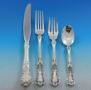 Buttercup By Gorham Sterling Silver Flatware Set 8 Place Size Service 32 Pieces