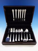 Eighteenth Century By Reed And Barton Sterling Silver Flatware Set Service 32 Pcs