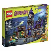 Lego Scooby-doo Mystery Mansion Building Kit 75904 - 860 Pcs [toys, Retired] New