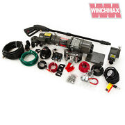 Winch 12v Atv Boat Trailer 4000 Lb With Pressure Washer And Air Compressor Mods